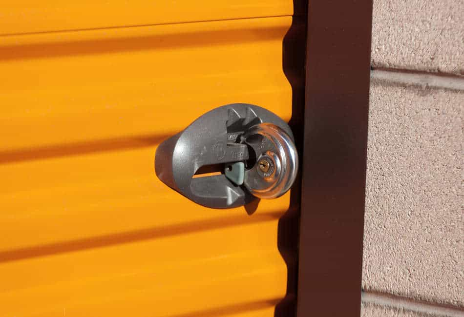 Storage unit Lock